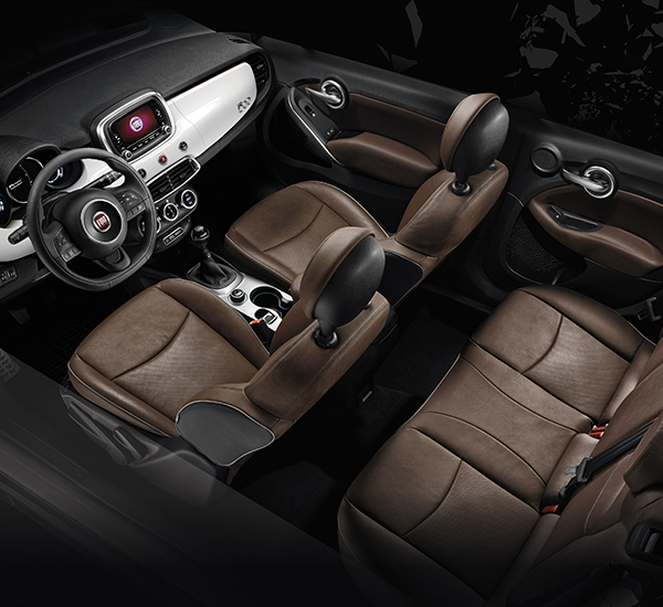 Fiat 500x city look small suv 4x2 crossover car for 500x interior