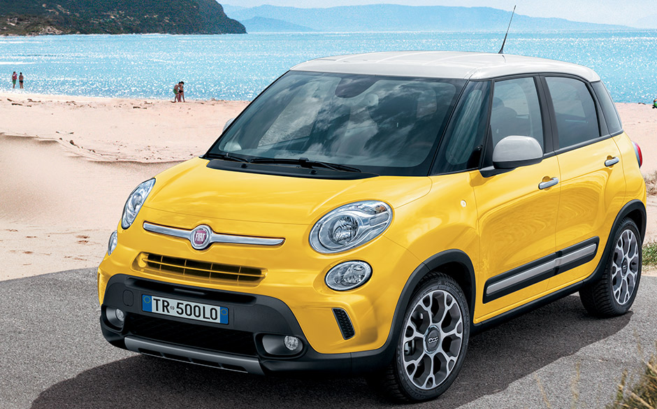 fiat 500l trekking the tough affordable mpv. Black Bedroom Furniture Sets. Home Design Ideas