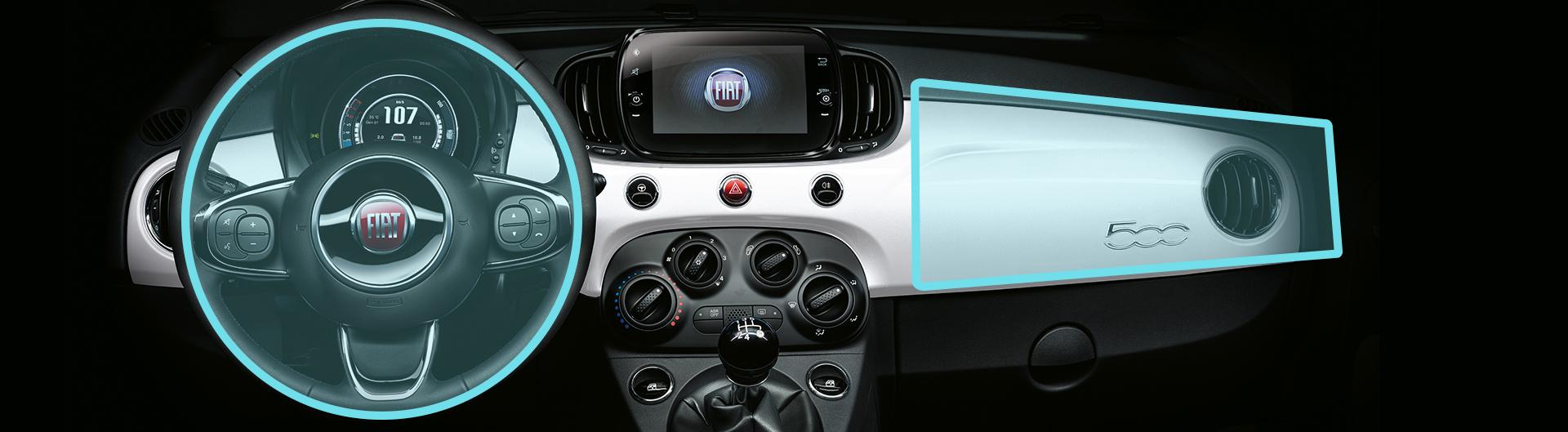 Fiat 500C airbags