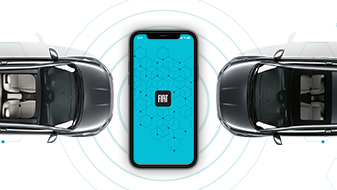 Fiat 500 La Prima Electric mobility Apps banner