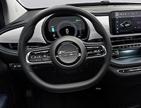 SOFT-TOUCH STEERING WHEEL