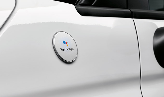 Voice Remote control with Mopar® Connect and Google Assistant