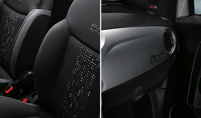 "Dedicated interiors with ""flashy"" seats and silver matt dashboard"