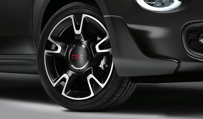 16 sporty alloy wheels