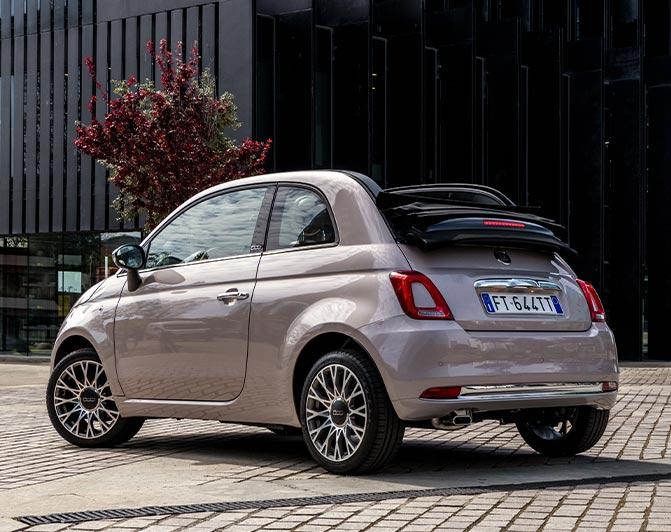 Fiat 500c Compact Convertible Car Fiat Uk