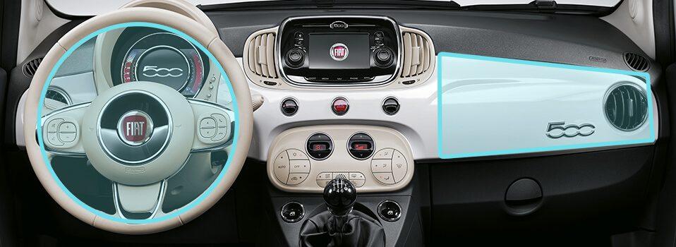 Fiat 500 pop interior for Interieur fiat 500x