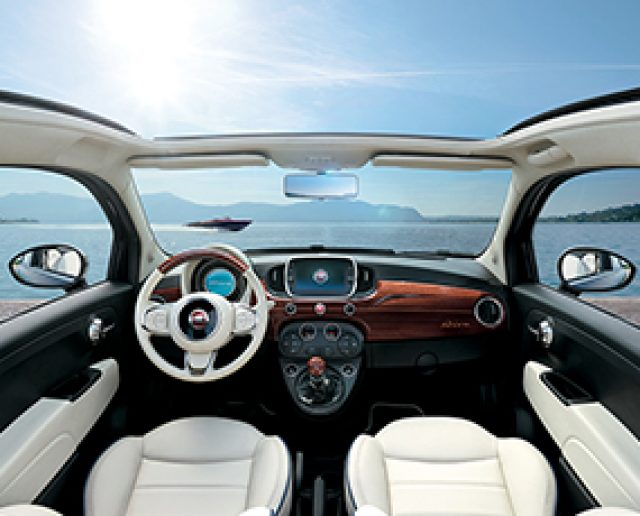 fiat 500c riva idea di immagine auto. Black Bedroom Furniture Sets. Home Design Ideas