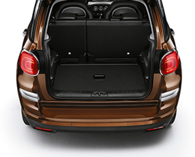 fiat 500l trunk images galleries with a bite. Black Bedroom Furniture Sets. Home Design Ideas