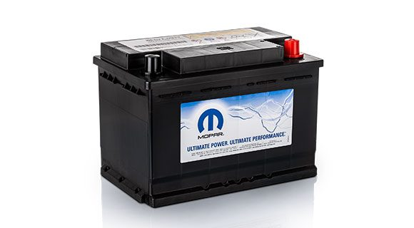 Fiat spare parts - Original Fiat batteries | Mopar UK