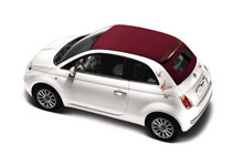 Fiat 500 Convertible Stickers