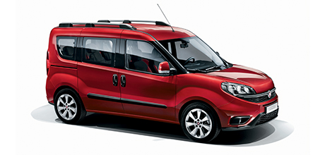 Fiat Doblo - Bordeaux - With Family