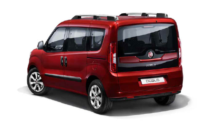 Fiat Doblo World - Rear / Left Side View