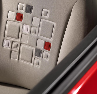 Fiat Panda - Squircle Seat Design