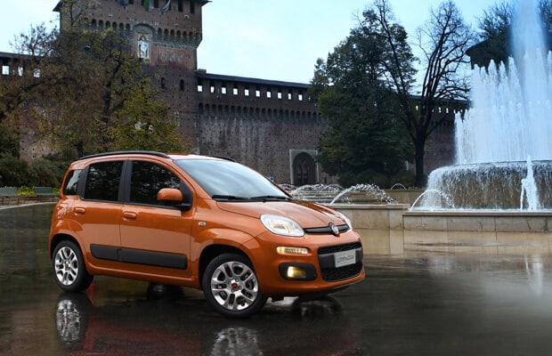 Fiat Qubo Right Side View Promo Shot
