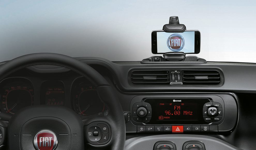 Uconnect Access App >> 2016 Fiat Panda City Car | Technology & Functionality ...