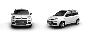 Fiat Panda - Front and Left Side View